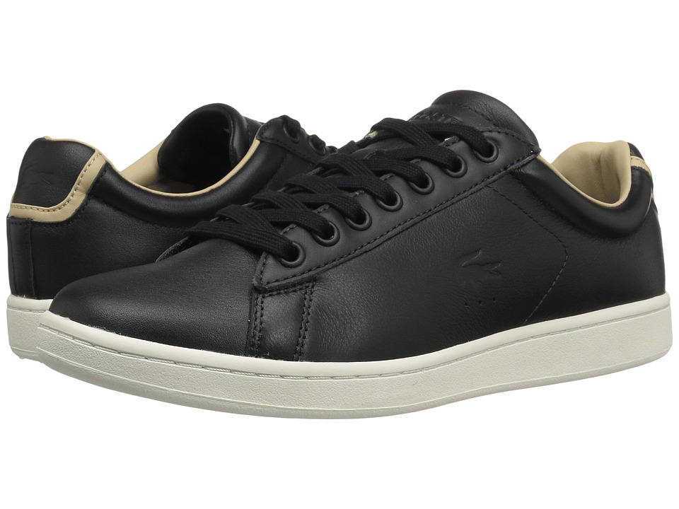 Lacoste - Carnaby EVO 316 1 (Black) Men's Shoes