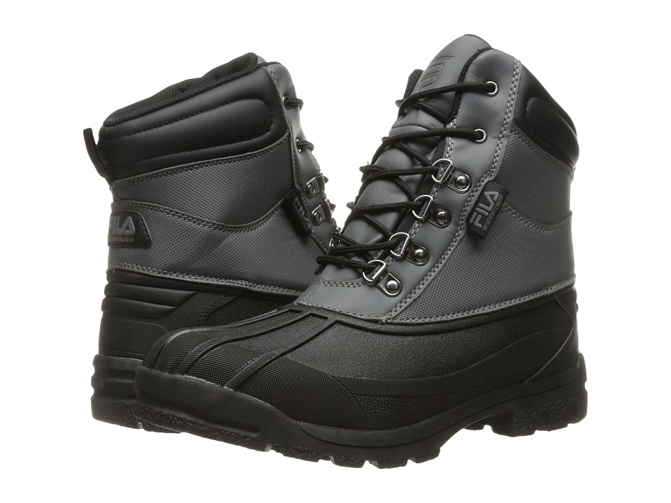 Fila - WeatherTech Extreme (Castlerock/Black/Dark Silver) Men's Boots