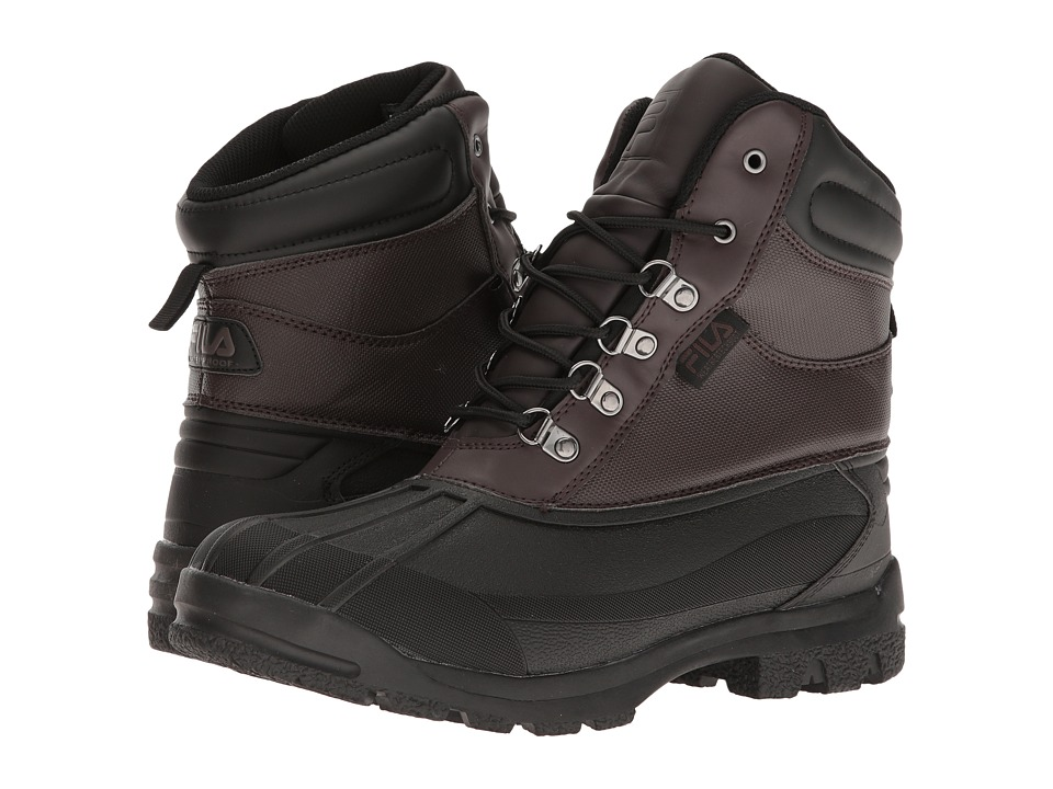 Fila - WeatherTech Extreme (Espresso/Black/Dark Silver) Men's Boots