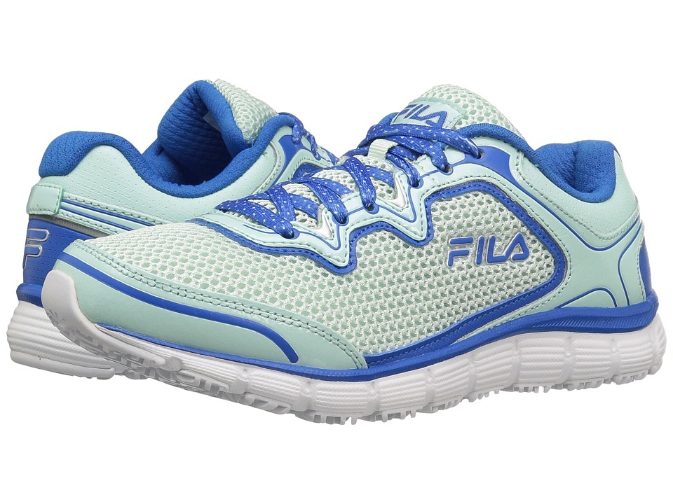Fila Memory Fresh Start SR (Fashion Aqua/Electric Blue/White) Women