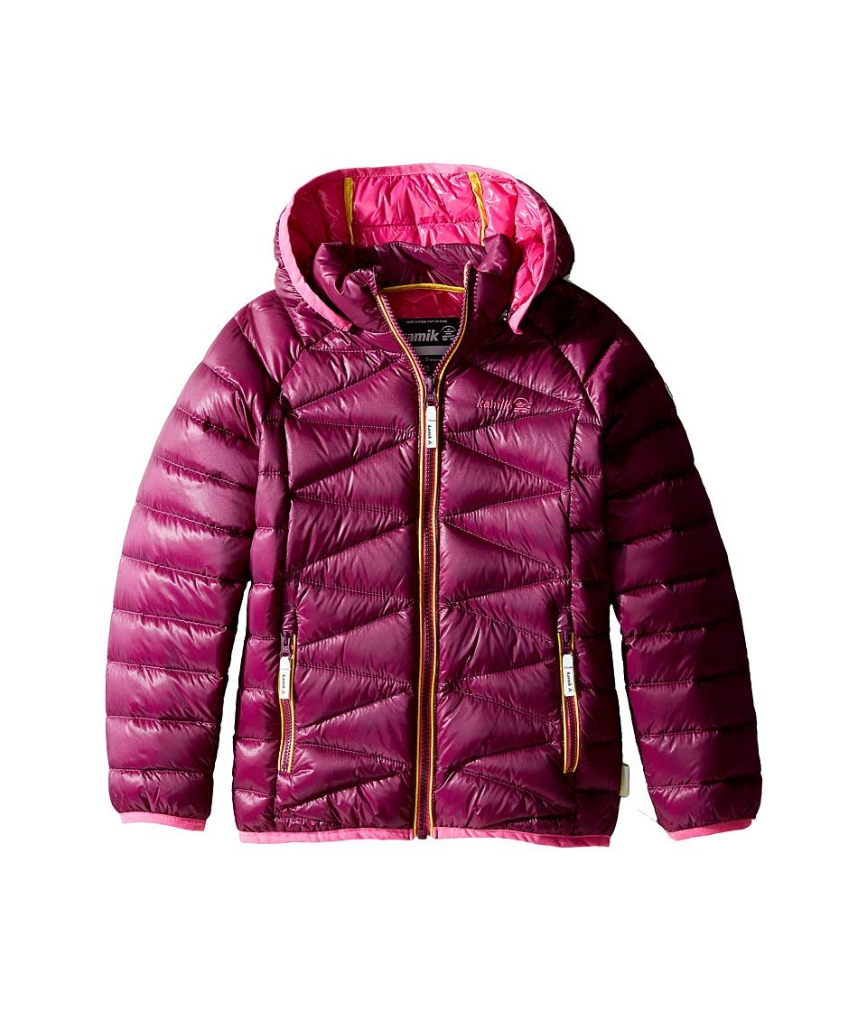 Kamik Kids - Adele Jacket (Infant/Toddler/Little Kids) (Dark Purple) Girl's Coat