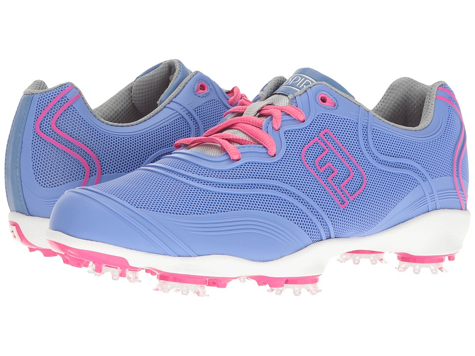 FootJoy - Aspire Cleated Full Flexgrid (Periwinkle) Women's Golf Shoes