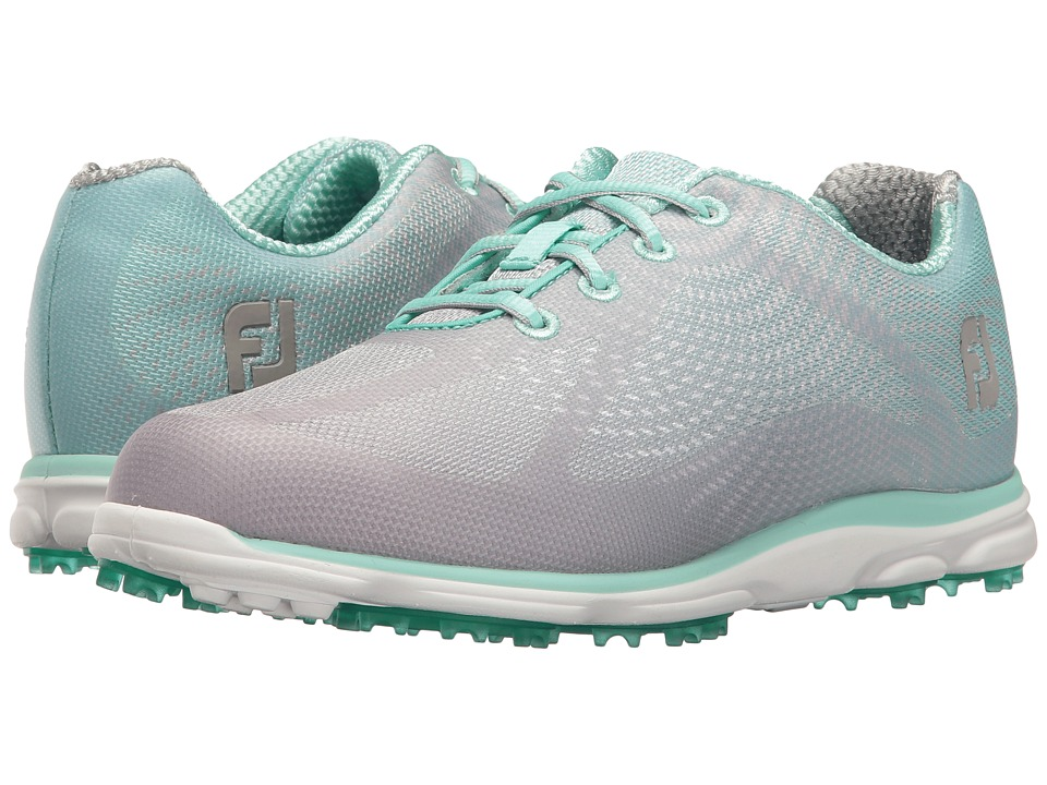 FootJoy Empower Spikeless Sublimated (Grey/Seaglass) Women