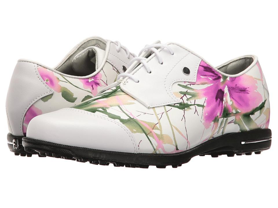 FootJoy Tailored Bal (White/Floral Print) Women
