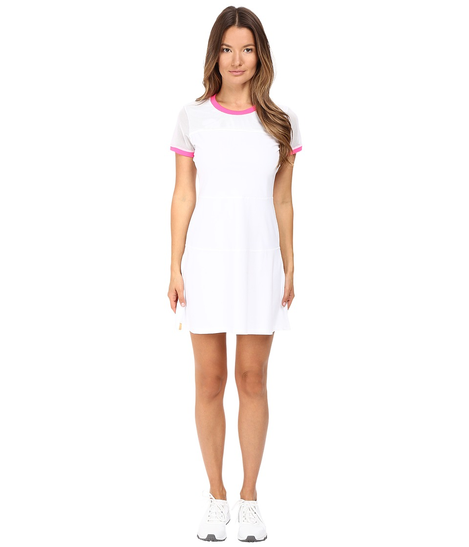 Monreal London - Tennis Club Dress (White) Women's Dress