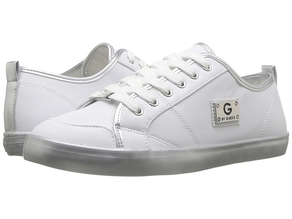G by GUESS - Mallory (White) Women's Lace up casual Shoes