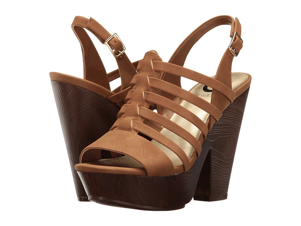 8c4aa4f68a7c ... UPC 190906394638 product image for G by GUESS - Seany (Honeyglaze) Women s  Sandals