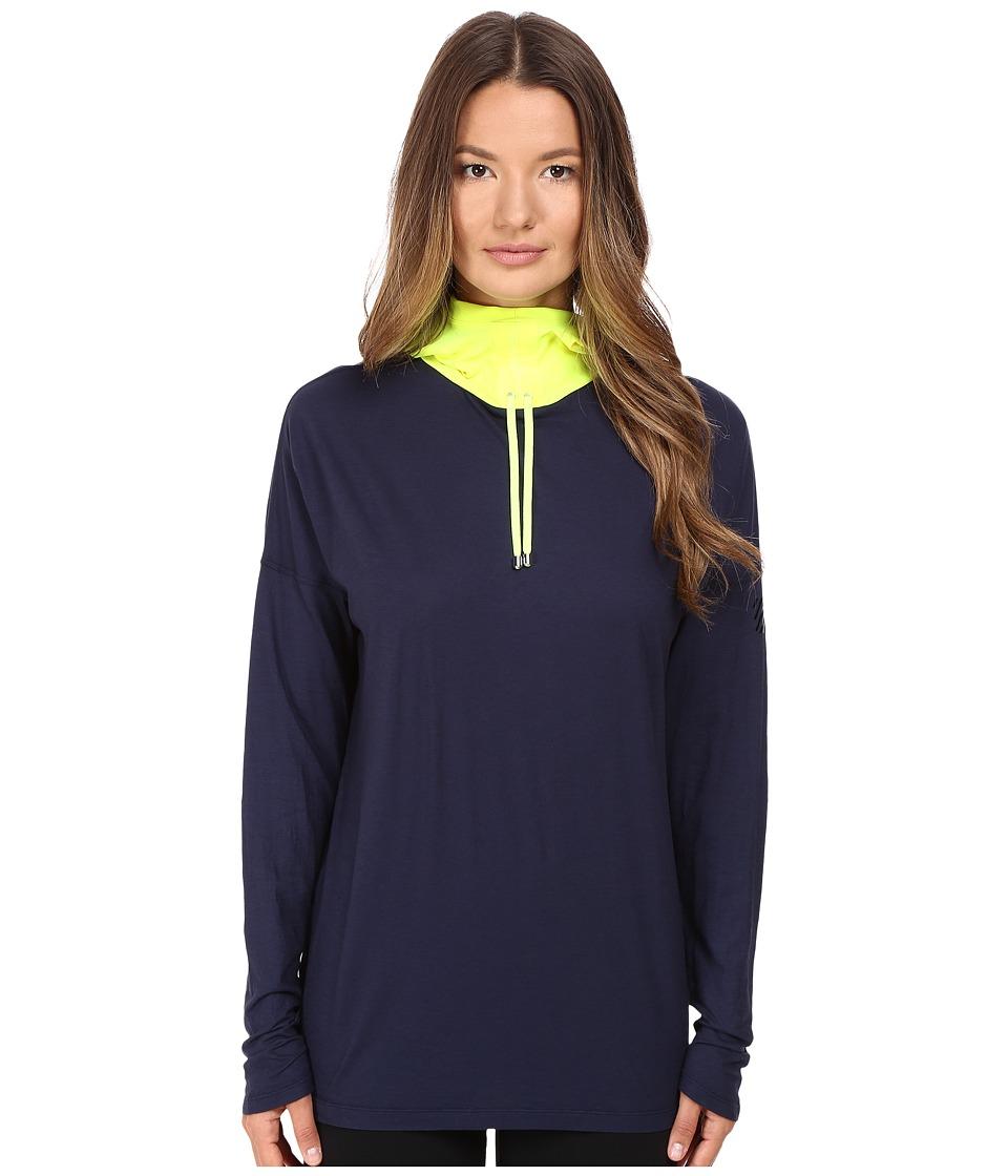 Monreal London - Namaste Hoody (Indigo) Women's Sweatshirt