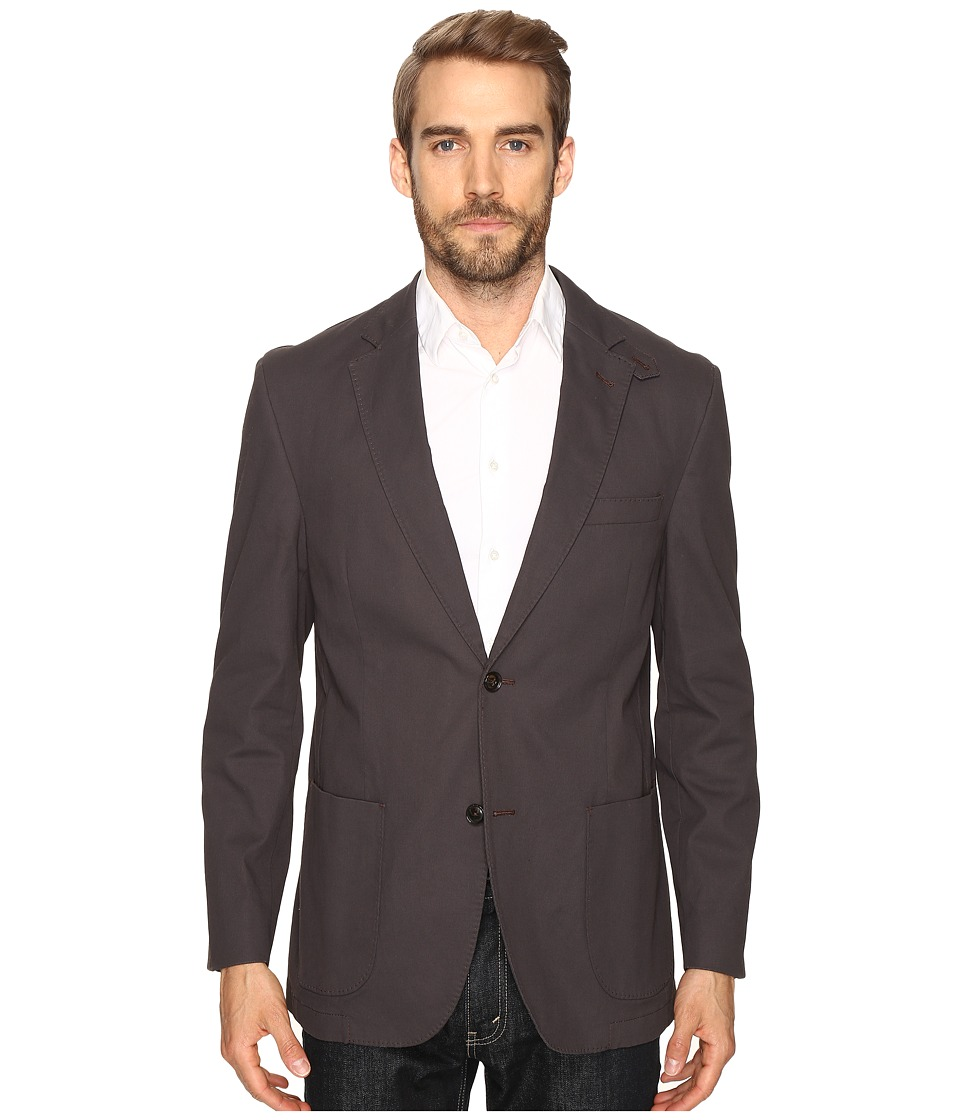Kroon - Garment Washed Bono 2 Blazer (Black) Men's Jacket