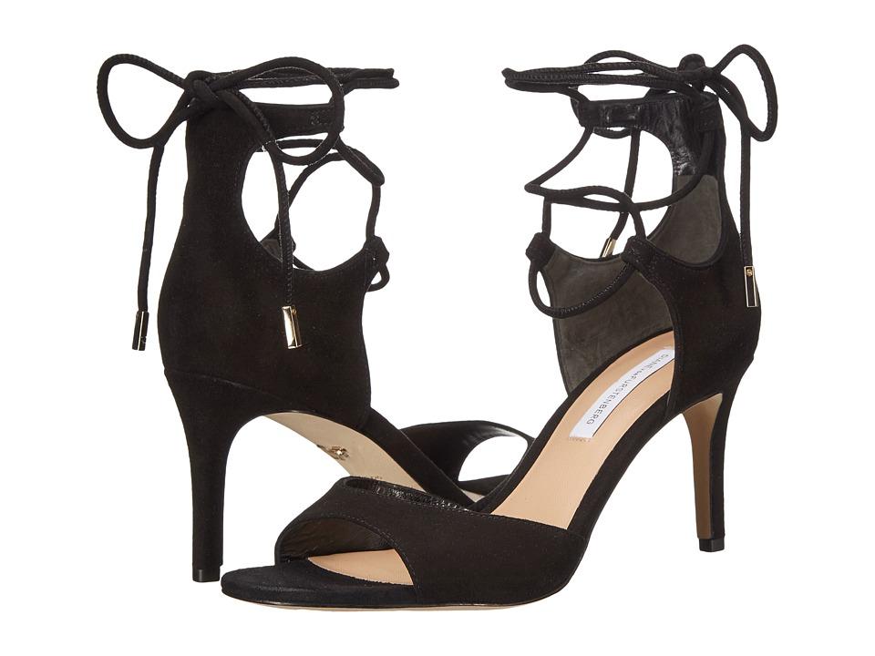 Diane von Furstenberg - Rimini (Black Kid Suede) Women's Shoes