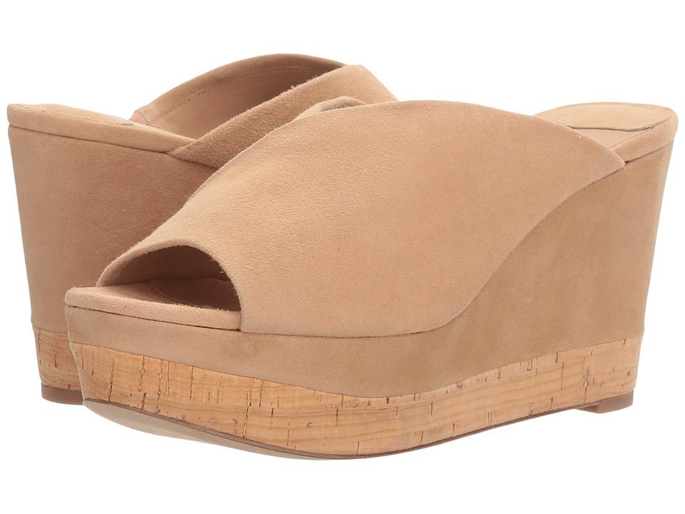 Diane von Furstenberg - Manila (Camel Kid Suede) Women's Shoes