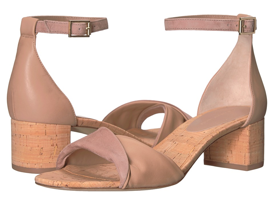 Diane von Furstenberg - Florence (Powder Nappa/Kid Suede) Women's Shoes