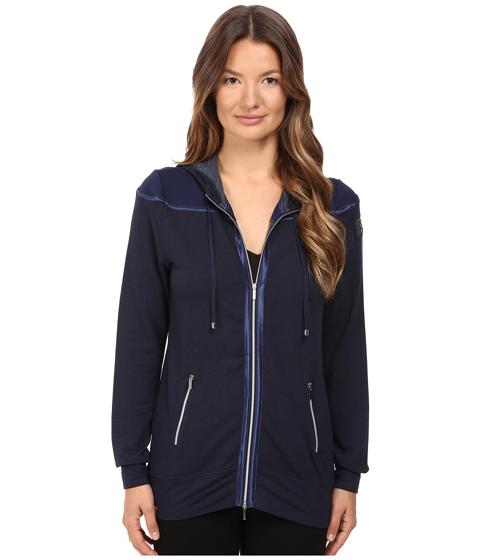 Monreal London - Long Signature Jacket (Indigo) Women's Coat