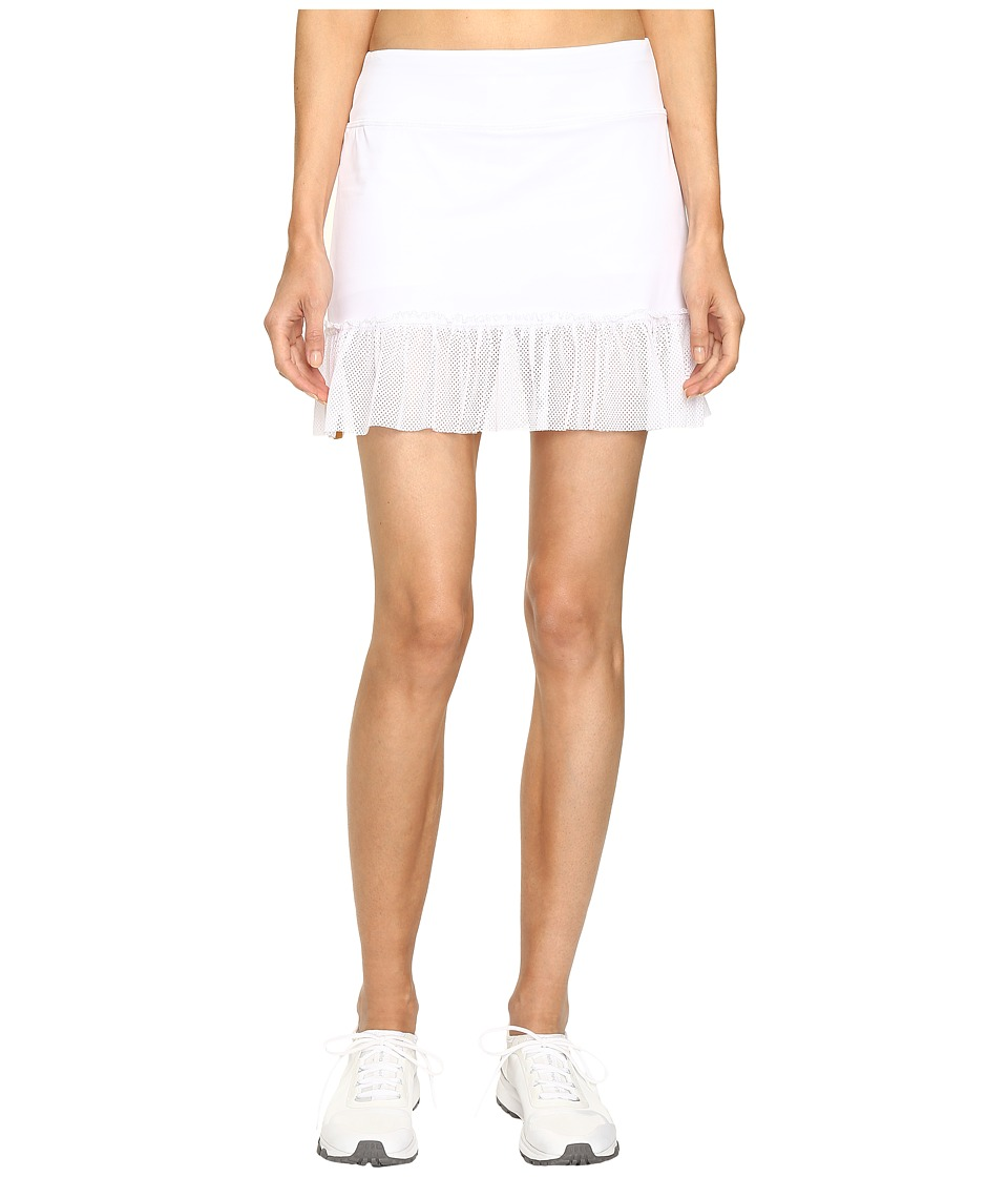 Monreal London - Peplum Skirt (White) Women's Skirt