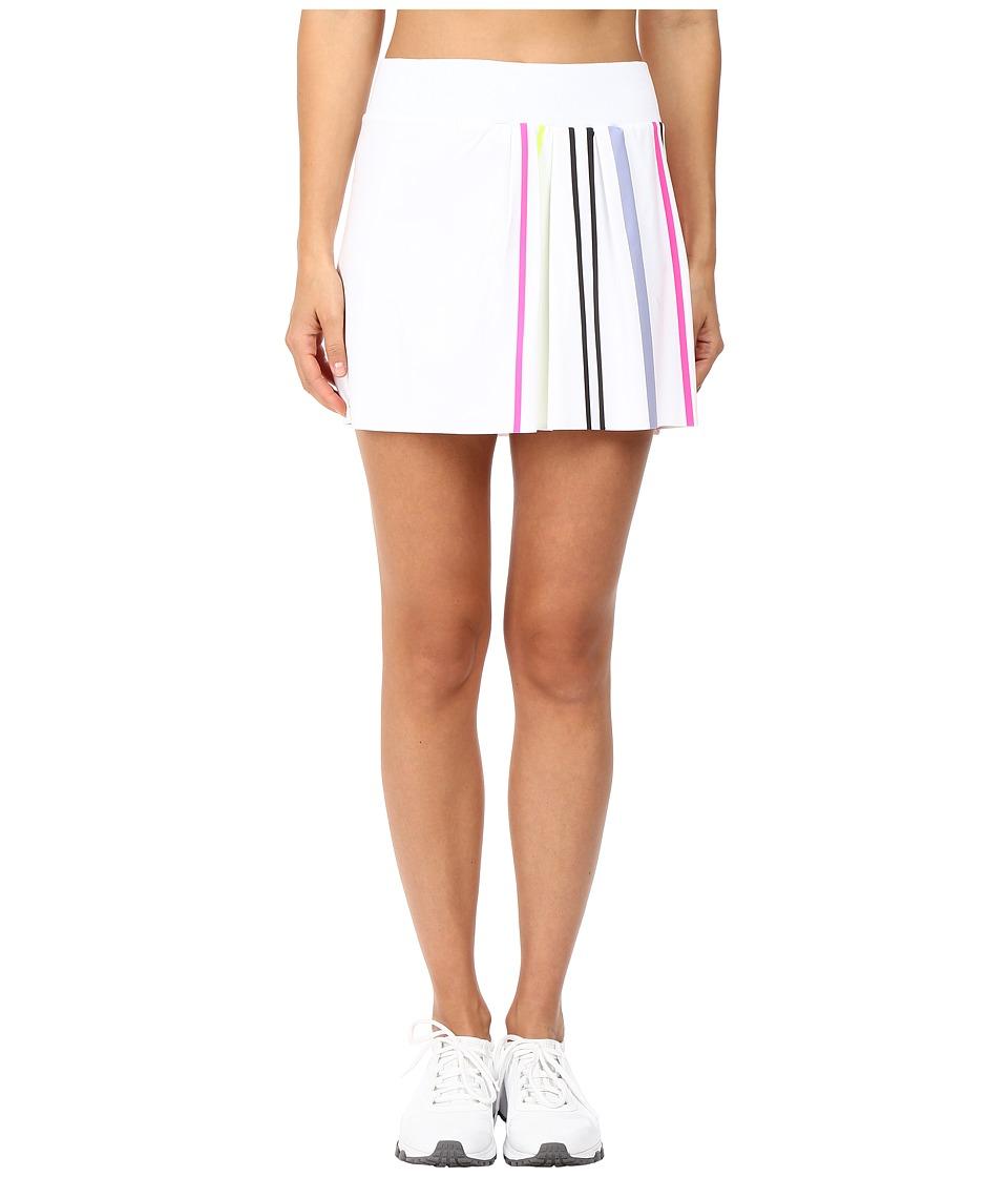 Monreal London - Front Pleats Skirt (White) Women's Skirt