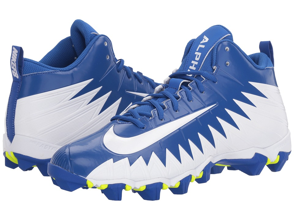 Nike - Alpha Menace Shark (Game Royal/White/White) Men's Shoes