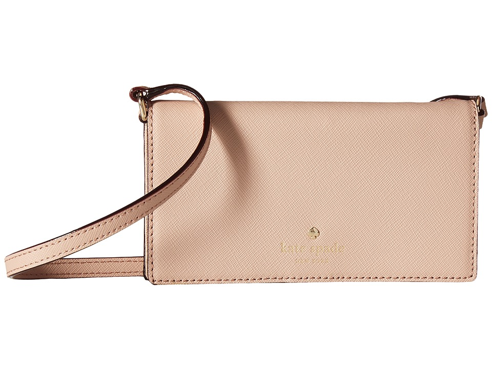 Kate Spade New York - Crossbody iPhone Case for iPhone 6 (Toasted Wheat) Cell Phone Case