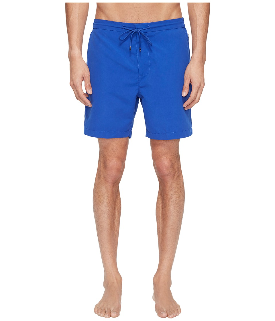 Jack Spade - Elasticated Boardshorts (Royal Blue) Men's Swimwear