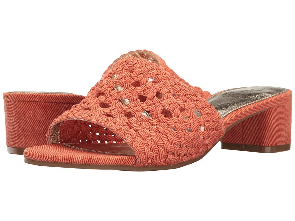 Adrianna Papell - Talulah (Orange Sorrento Canvas) Women's Sandals