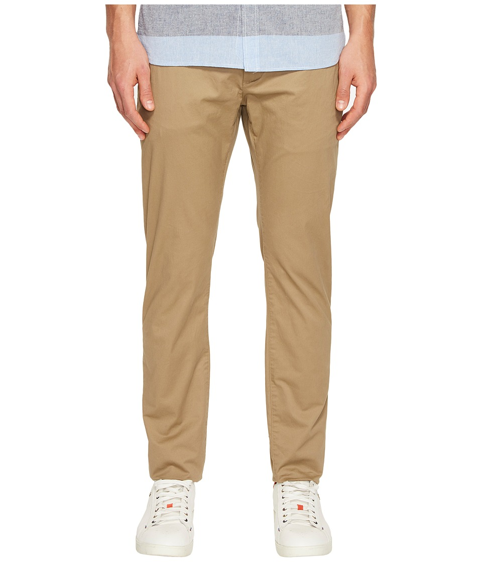 Jack Spade - Slim Trousers (Dark Khaki) Men's Casual Pants