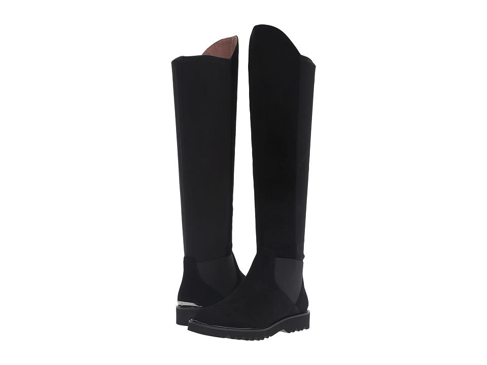 Donald J Pliner - Clary (Black Suede) Women's Boots