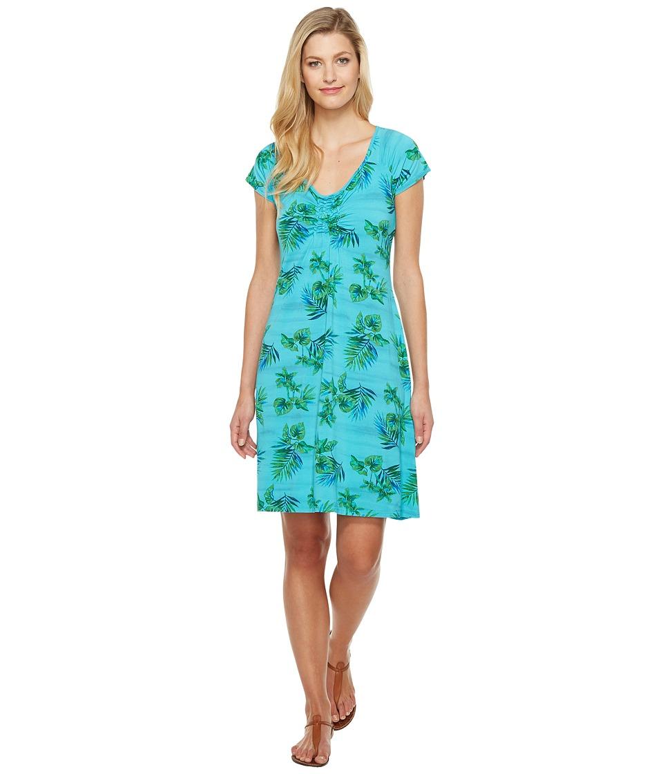 Fresh Produce - Off Shore Emma Dress (Luna Turquoise) Women's Dress
