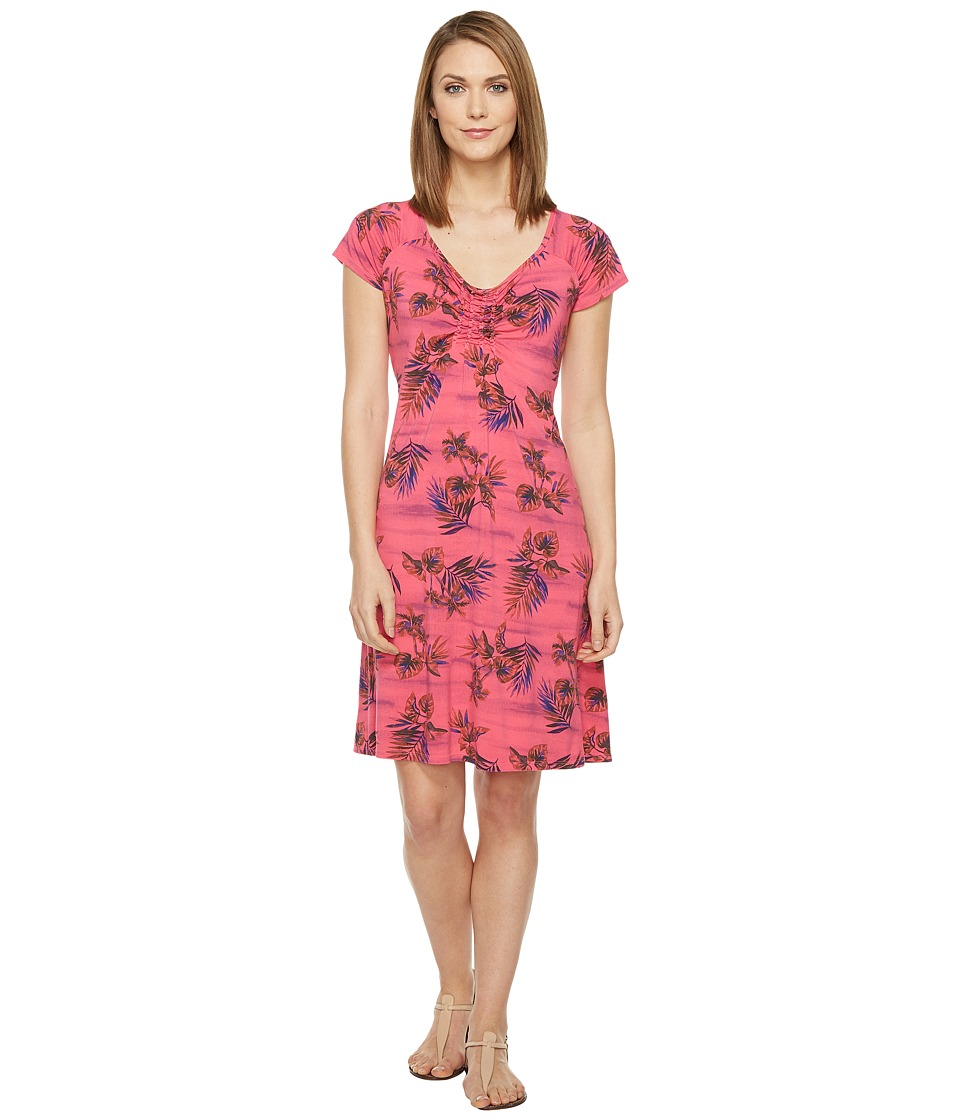Fresh Produce - Off Shore Emma Dress (Papaya Fruit Pink) Women's Dress