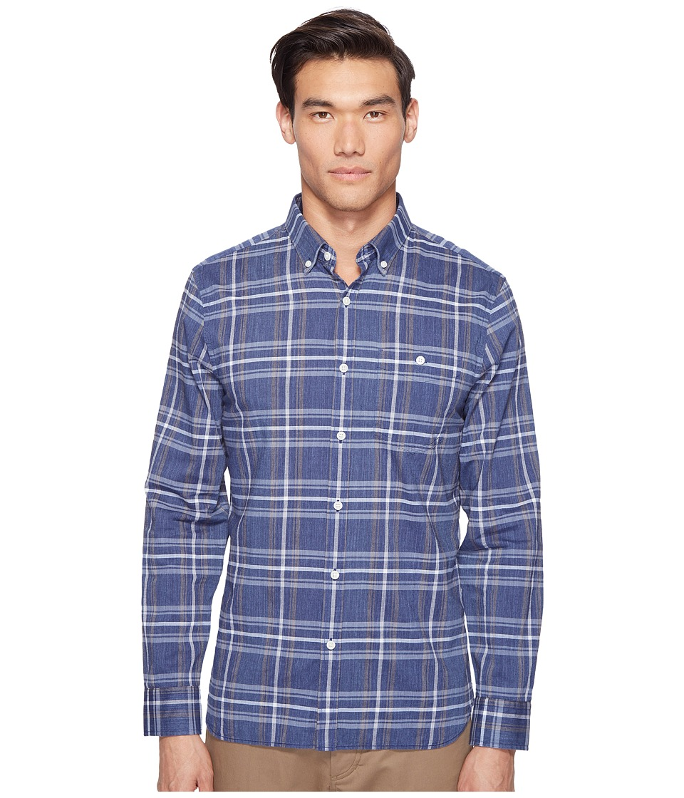 Jack Spade - Indigo Check Shirt (Navy) Men's Clothing