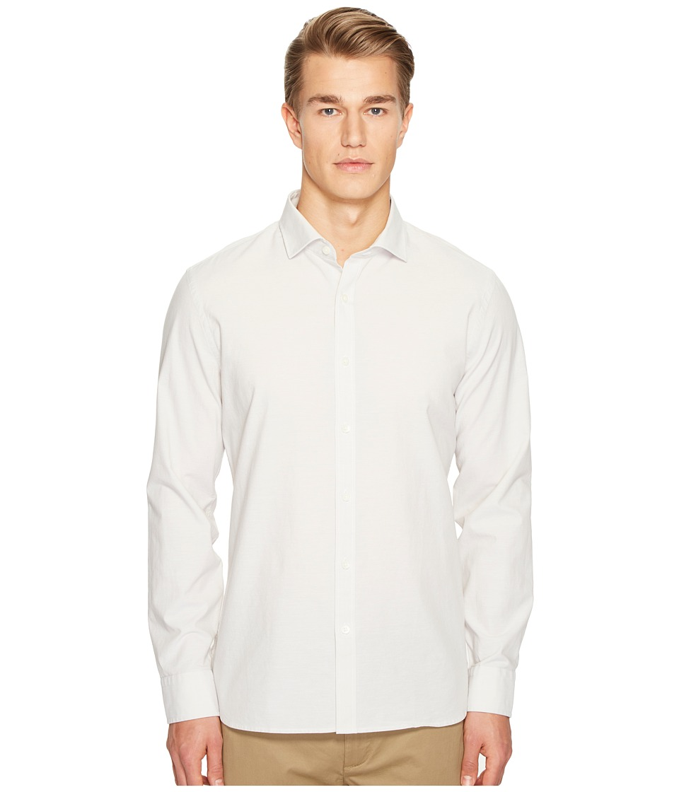 Jack Spade - Chambray Spread Collar Shirt (Natural) Men's Clothing