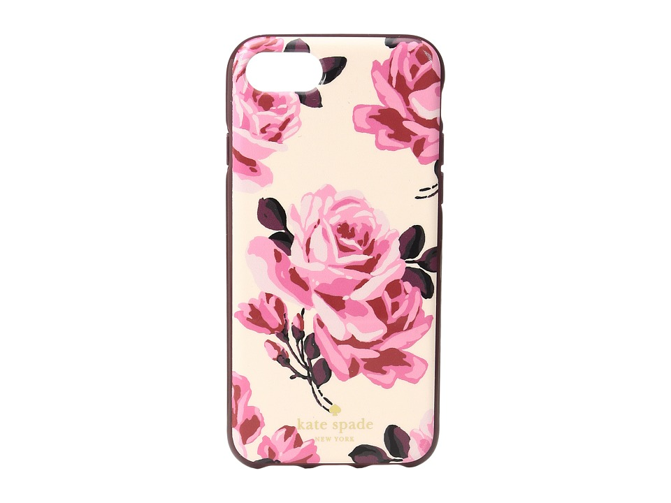 Kate Spade New York - Rosa Phone Case for iPhone 7 (Pink Sand Multi) Cell Phone Case