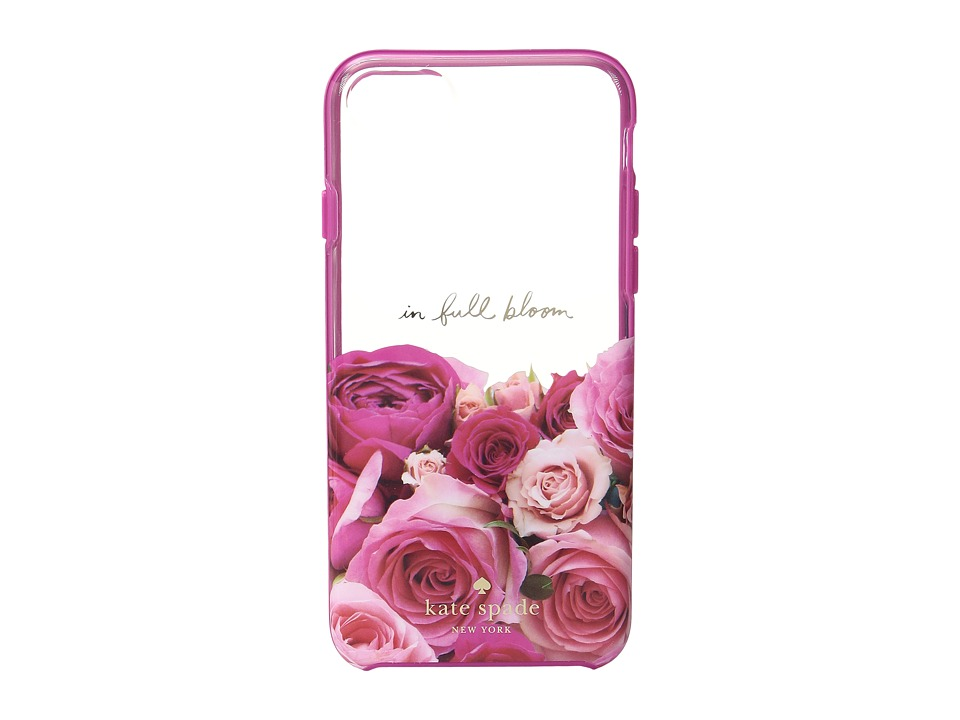 Kate Spade New York - In Full Bloom Phone Case for iPhone 7 (Pink Multi) Cell Phone Case