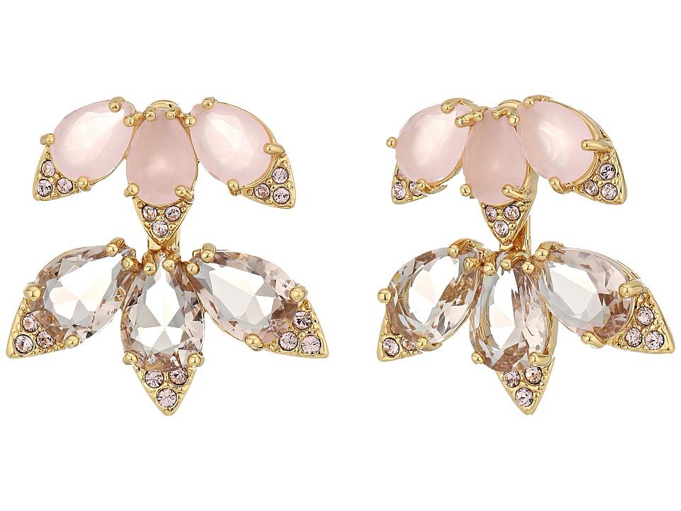 Kate Spade New York - Blushing Blooms Ear Jackets Earrings (Pink Multi) Earring
