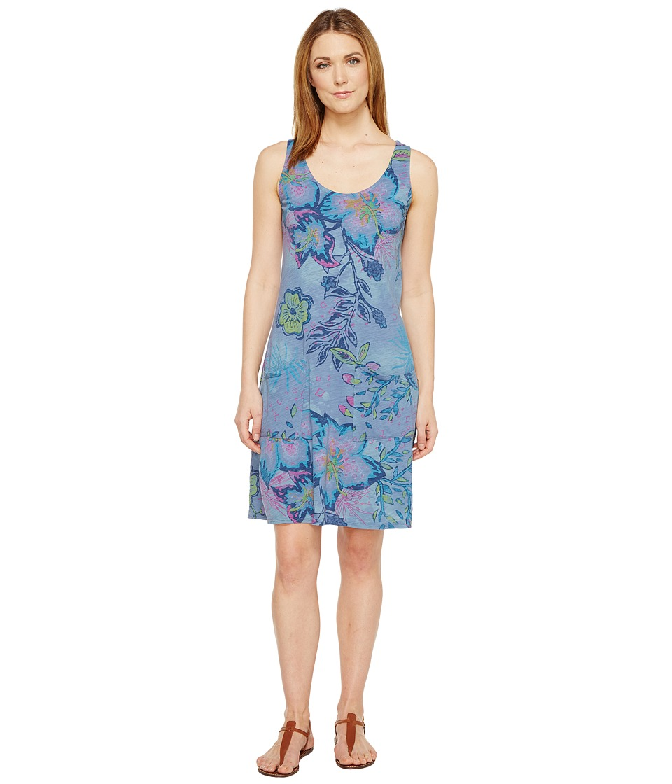 Fresh Produce - Cabana Bright Drape Dress (Deep Dive) Women's Dress