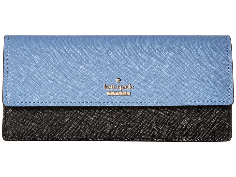 Kate Spade New York - Cameron Street Alli (Tile Blue/Black) Wallet