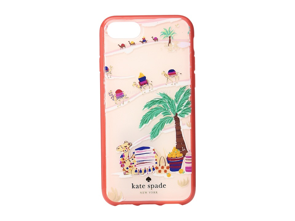 Kate Spade New York - Desert Camels Phone Case for iPhone 7 (Multi) Cell Phone Case