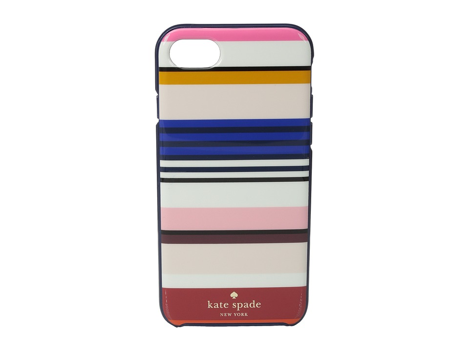 Kate Spade New York - Berber Stripe Phone Case for iPhone 7 (Multi) Cell Phone Case