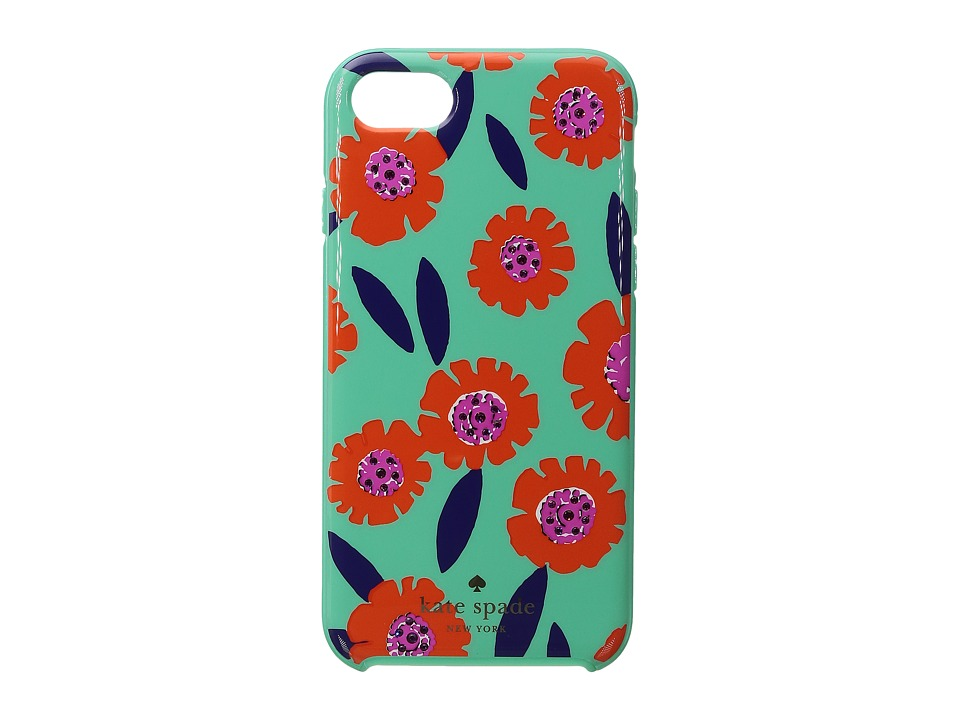 Kate Spade New York - Jeweled Majorelle Phone Case for iPhone(r) 7 (Garden Mint) Cell Phone Case
