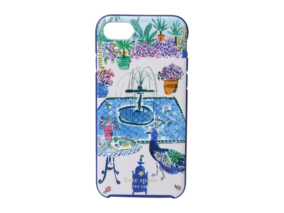 Kate Spade New York - Jeweled Garden Phone Case for iPhone(r) 7 (Multi) Cell Phone Case