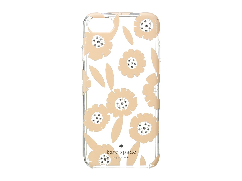 Kate Spade New York - Jeweled Majorelle Phone Case for iPhone(r) 7 (Pink Sand Multi) Cell Phone Case