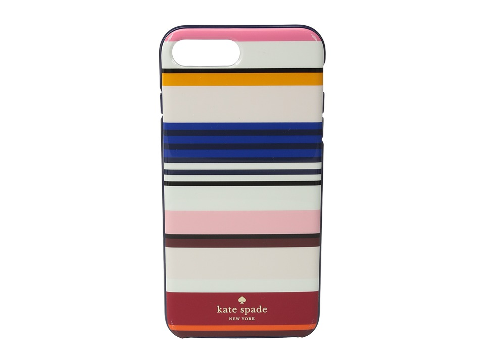 Kate Spade New York - Berber Stripe Phone Case for iPhone 7 Plus (Multi) Cell Phone Case