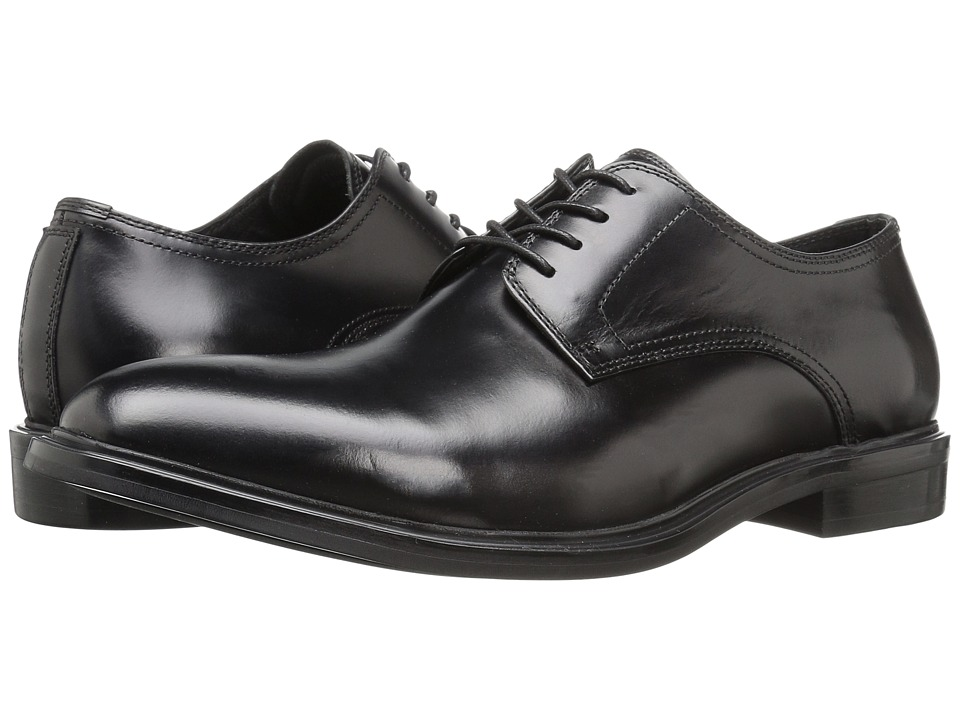Kenneth Cole New York - 4 The Record (Black) Men's Lace Up Cap Toe Shoes