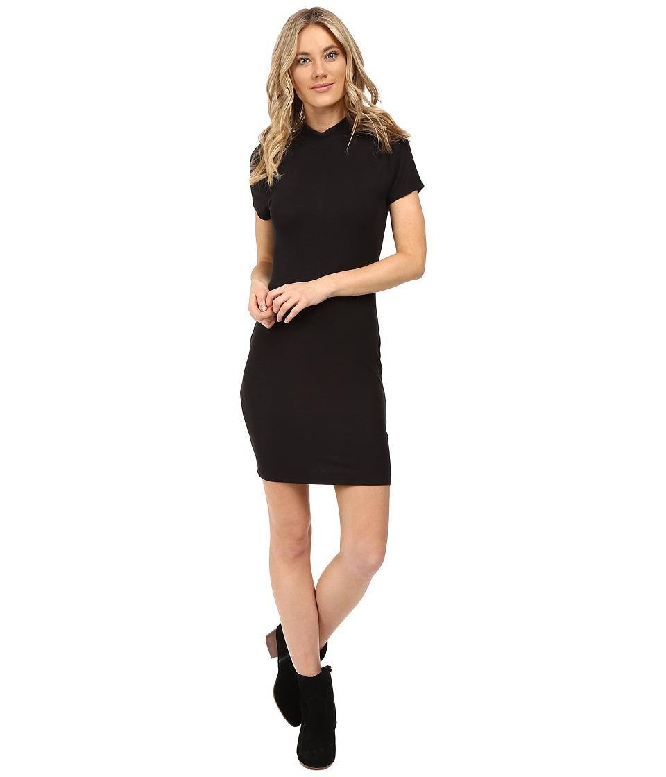 Vans - Abbott Rib Dress (Black) Women's Dress