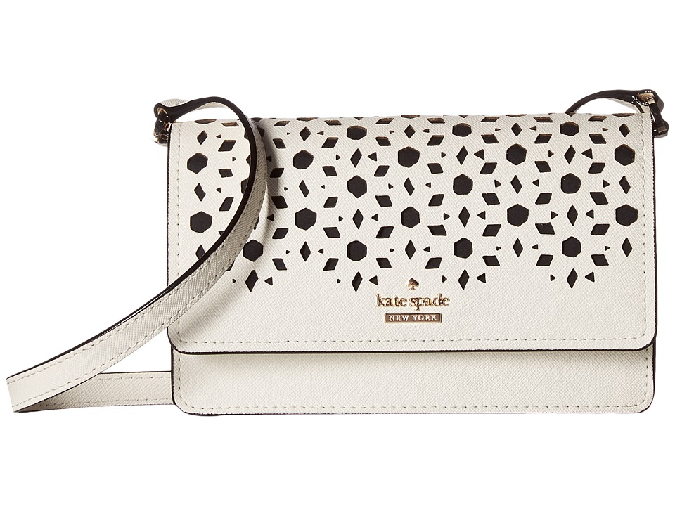 Kate Spade New York - Cameron Street Perforated Arielle (Cement) Wallet