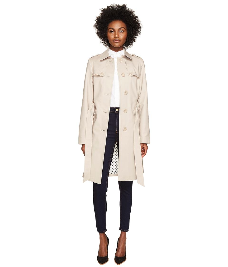 Kate Spade New York - 38 Trench Coat (Gainsboro Grey) Women's Coat