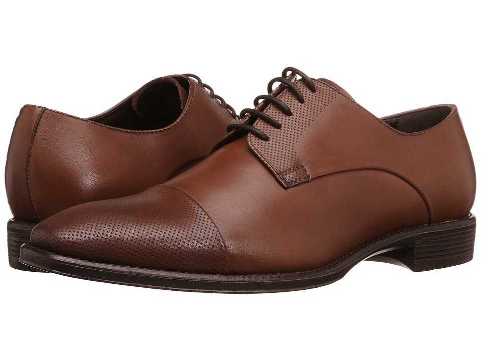 Kenneth Cole Reaction - Left Field (Cognac) Men's Lace up casual Shoes