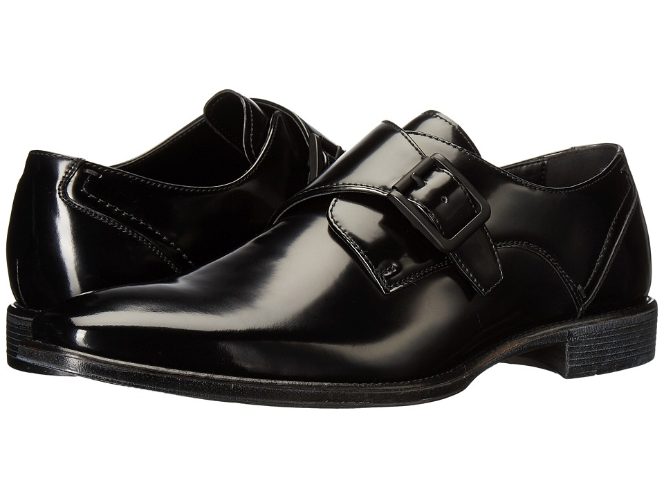 Kenneth Cole Reaction - Left Side (Black) Men's Slip on Shoes
