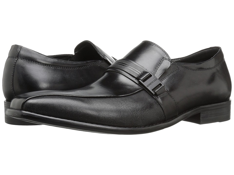 Kenneth Cole New York - Charm-Ing (Black) Men's Slip on Shoes