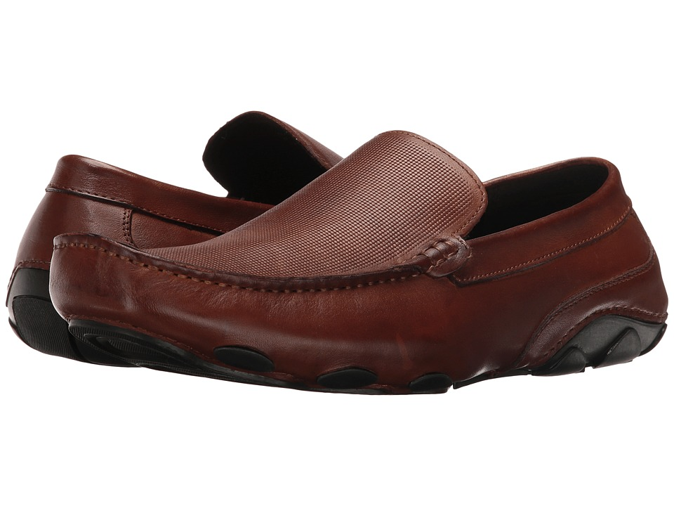 Kenneth Cole Reaction Make a Toast Cognac Mens Slip on  Shoes