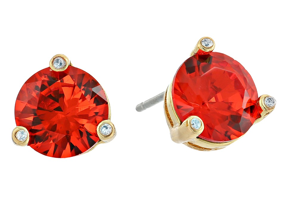 Kate Spade New York - Rise and Shine Small Studs Earrings (Orange) Earring