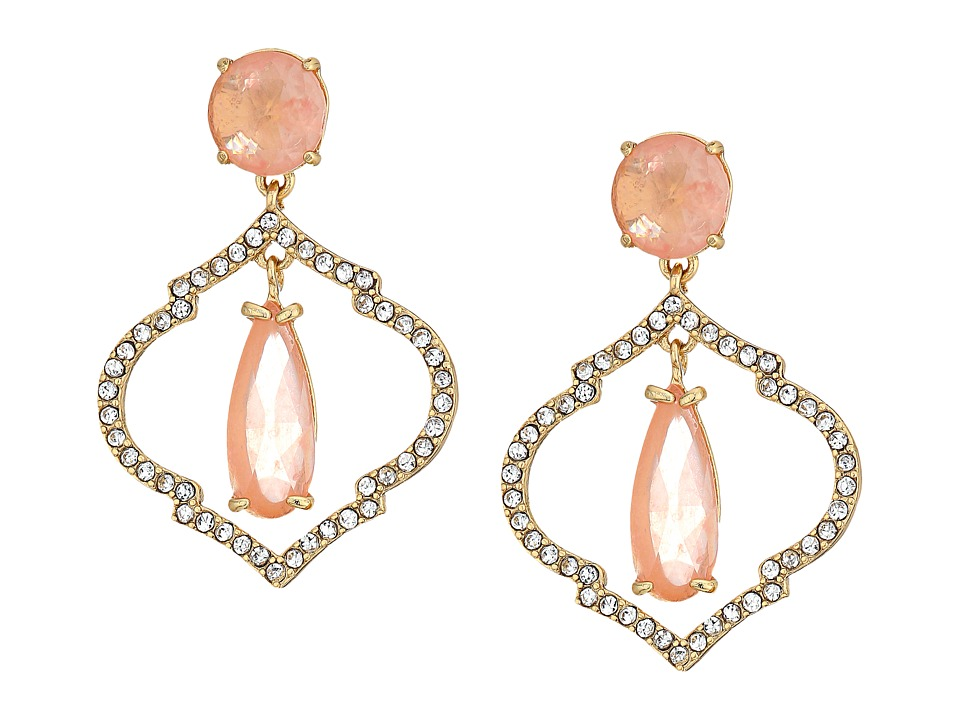 Kate Spade New York - Lantern Gems Drop Earrings (Cherry Quartz) Earring